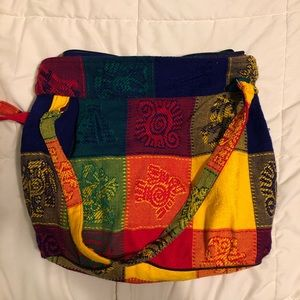 Handbags - Authentic Mexican handmade woven tote